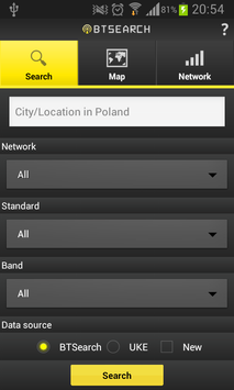 BTSearch Poland screenshot 1