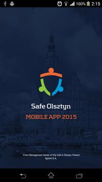 Safe Olsztyn poster
