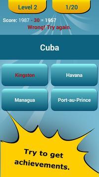 Countries Capitals Quiz apk screenshot