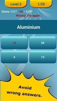 Periodic table quiz apk download free education app for android periodic table quiz apk screenshot urtaz Choice Image