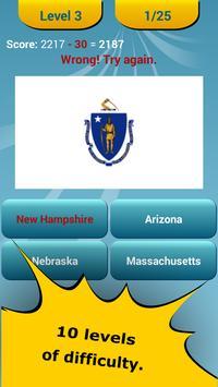50 US States Quiz apk screenshot