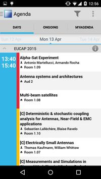 EuCAP 2015 apk screenshot