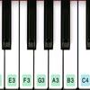 पियानो कुंजीपटल 2019 आइकन