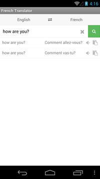 French Translator screenshot 1