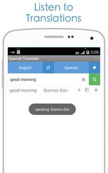 Spanish Translator screenshot 7