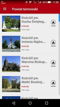 Zabytki powiatu tarnowskiego apk screenshot