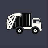 Wywóz śmieci i odpadów biểu tượng