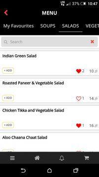 CurryKing Restauracja Indyjska screenshot 3