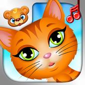 123 Kids Fun ANIMAL BAND Game icon