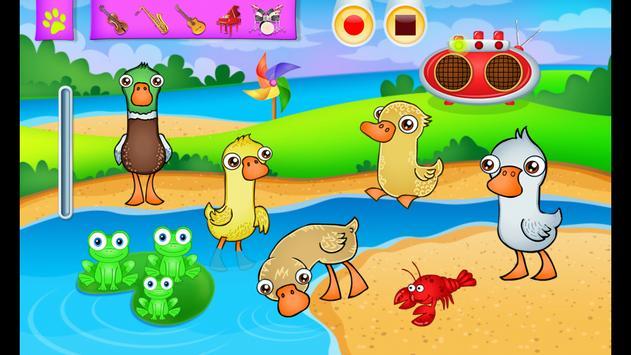 123 Kids Fun ANIMAL BAND Game 截圖 10