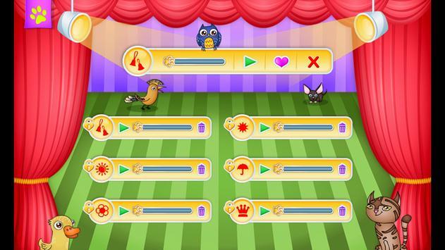 123 Kids Fun ANIMAL BAND Game apk screenshot