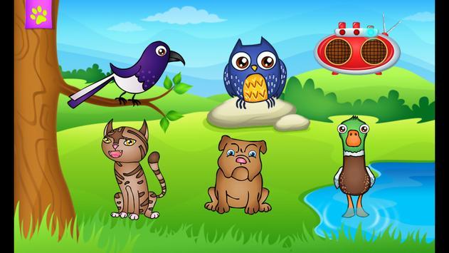 123 Kids Fun ANIMAL BAND Game 截圖 21
