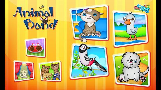 123 Kids Fun ANIMAL BAND Game 截圖 23
