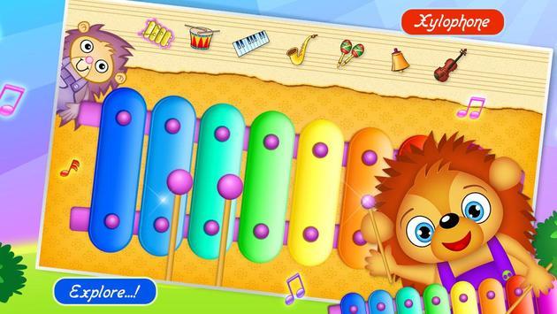 123 Kids Fun Music Games Free Plakat