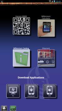 Hansen Millennium App Test poster