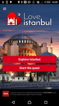 Love Istanbul poster