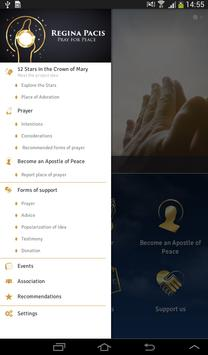 Regina Pacis - Pray for Peace apk screenshot