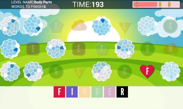 Word Memo - memory game apk screenshot
