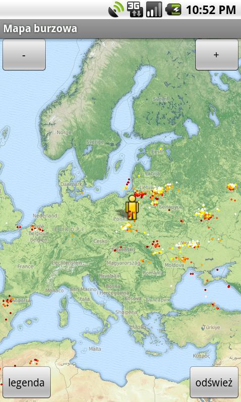 Mapa Burzowa I Pogodowa For Android Apk Download