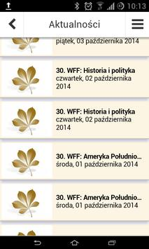 Warsaw Film Festival apk screenshot