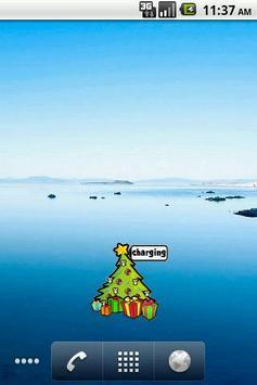 Christmas tree Battery Widget screenshot 3