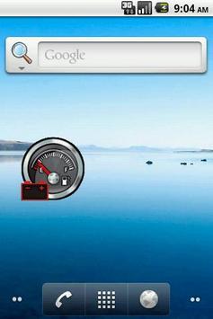 Car Battery Widget poster