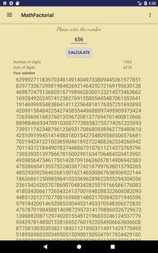 Math Factorial apk screenshot