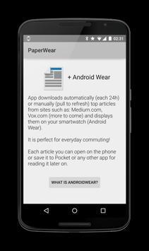 PaperWear apk screenshot