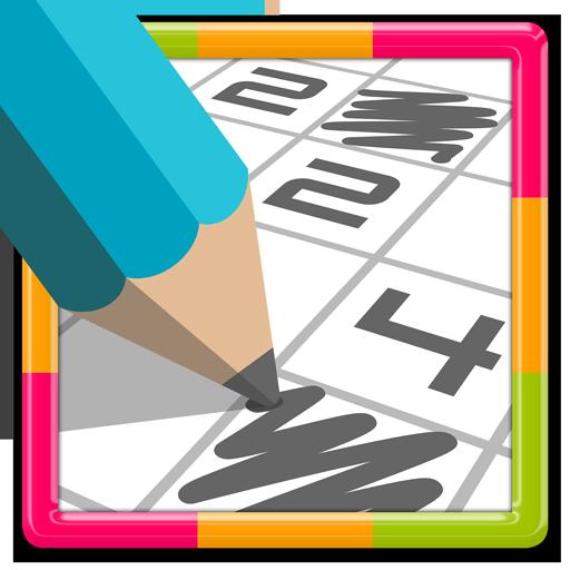 PIX.pix Numbers Puzzle Game