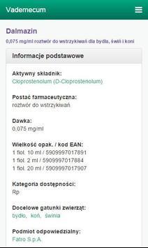 Vademecum Venanet screenshot 2