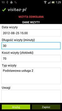 Klient Visiteo apk screenshot