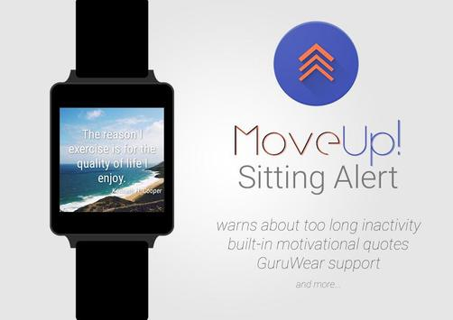MoveUp! Sitting Alert for Wear apk screenshot