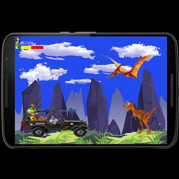 mustafa attack dinosaurs apk screenshot