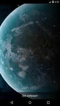 Planet 17 Live Wallpaper apk screenshot