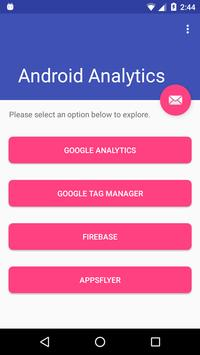 Android Analytics Sample App poster