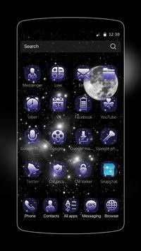Planet Moon HD Wallpaper Theme apk screenshot