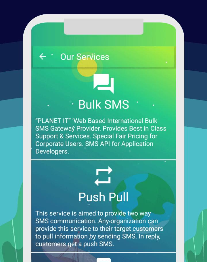 Planet IT - Bulk SMS for Android - APK Download