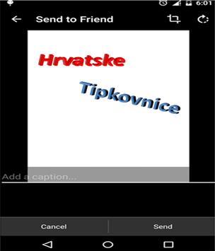 croatian keyboard apk screenshot