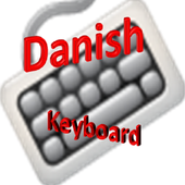 danish keyboard icon