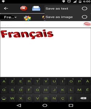 french keyboard apk screenshot