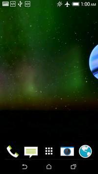 Planet 3D Video LWP apk screenshot