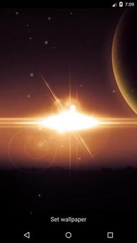 Planet 7 Live Wallpaper apk screenshot