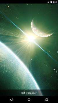Planet 8 Live Wallpaper poster