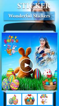 Easter Video Maker apk screenshot