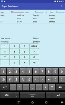 Shopping on a Budget apk screenshot