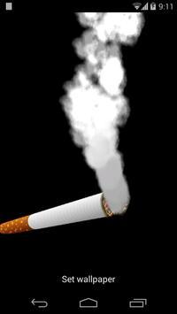 Cigarette Smoking Wallpaper Apk Screenshot