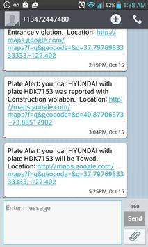 PlateAlert screenshot 2