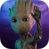 Baby Groot Wallpaper icon