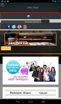 Yeniden FM poster