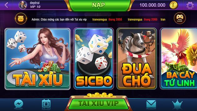 Slot88.Club: Tài Xỉu - Bầu Cua - Ba Cây poster
